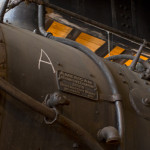 Builder's plate: 'American Locomotive Company'