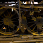 Locomotive's wheels