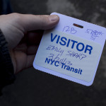 My visitor pass