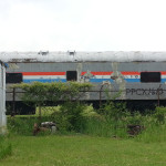 Old Amtrak car