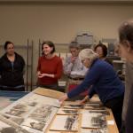 Curator explains materials