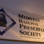 Midwest Railway Preservation Society banner