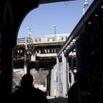 A train above