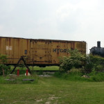 Another steam engine (right)