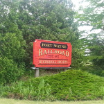 Fort Wayne Railroad sign