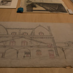 Grand Central Depot head house drawing